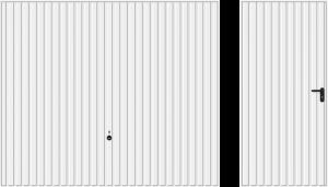 Wzór 902, biały RAL 9016