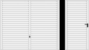 Wzór 957, biały RAL 9016