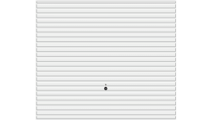 Wzór 968, biały RAL 9016
