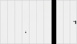 Wzór 984, biały RAL 9016