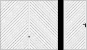 Wzór 990, biały RAL 9016