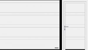 Przetłoczenia D (LPU 42), kolor biały RAL 9016