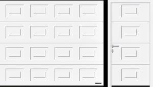 Kasetony (LPU 42, LTE 42), kolor biały RAL 9016